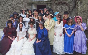 downton abbey day hen party activity