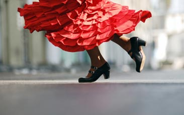 flamenco dance class hen party activity