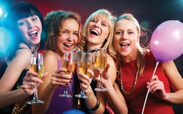 geordie VIP package hen party activity