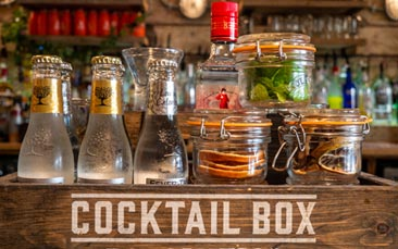 gin box hen party activity