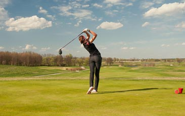 golf hen party activity