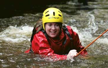 gorge walking hen party activity