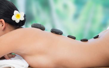 hot stone massage hen party activity