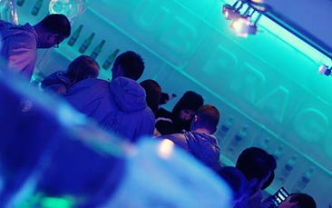 ice bar and nightclub