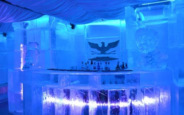 ice bar hen party activity