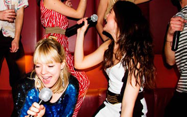 karaoke hire hen party activity