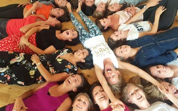 laughter yoga hen party activity