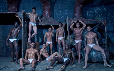 male strip show, dinner and club