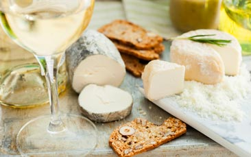 mobile wine & cheese tasting