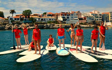 paddleboarding hen party activity