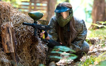 paintballing hen party activity
