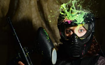 paintballing indoor hen party activity