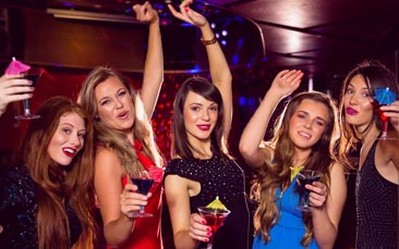 party nights hen party activity
