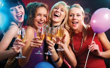 party package hen party activity