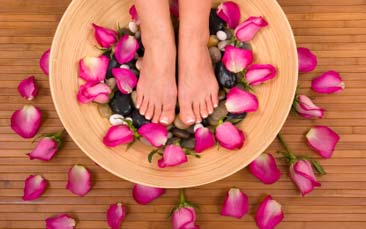 pedicure hen party activity