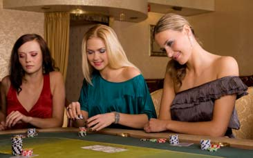 poker party hen party activity