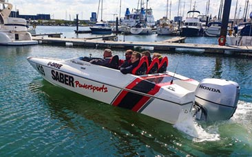 powerboating grand prix hen party activity