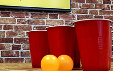 party pong hen party activity