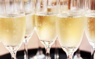 free flowing prosecco meal hen party activity
