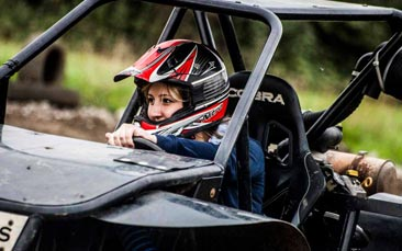 rage buggies hen party activity