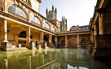 roman baths hen party activity