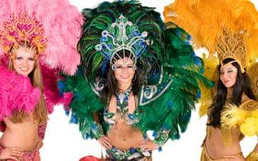 samba dancing hen party activity