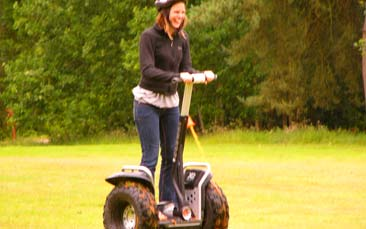 segways hen party activity