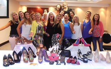 shoe workshop hen party activity