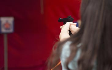target shooting hen party activity