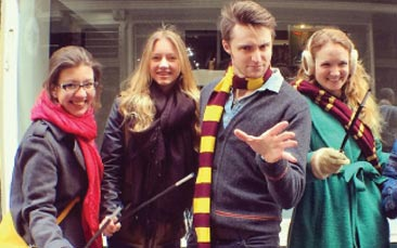 tour for muggles