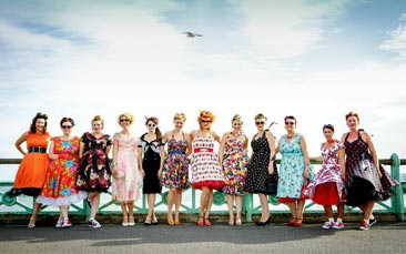 vintage makeover hen party activity