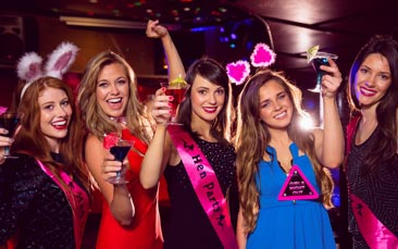 VIP club packages hen party activity