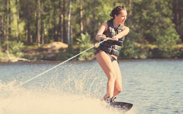 wakeboarding hen party activity