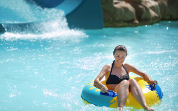 water park hen party activity