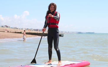 watersports hen party activity