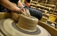 Pottery making image