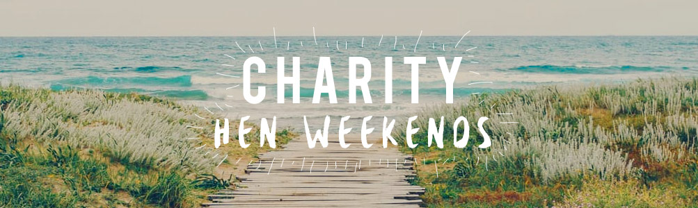 Charity hen weekends