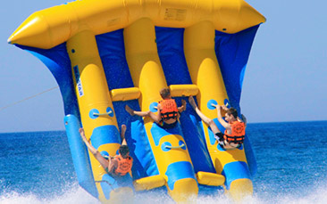 inflatable water madness