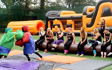 Inflatable hen games