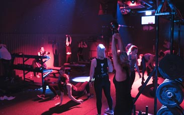ministry of sound fitness class