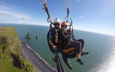 Paragliding Hen Party in Reykjavik   GoHen com