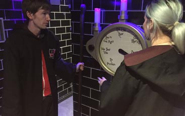 harry potter themed escape room