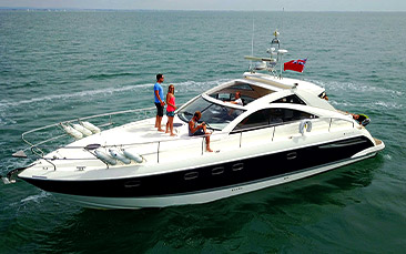 powerboat charter