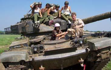 Drive A Tank >> Tank Driving Hen Parties Gohen Com