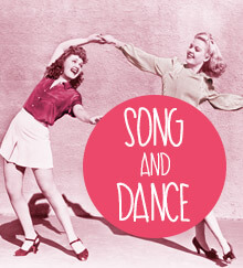 Song and dance hen activities image