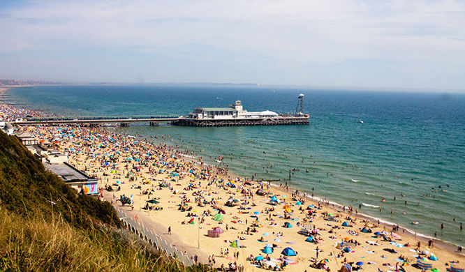 See our Bournemouth weekends