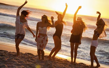 Hen party beach destinations