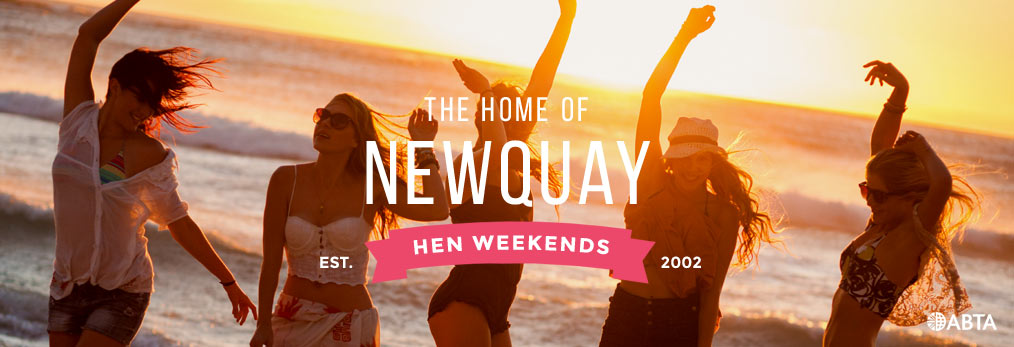 Newquay hen party