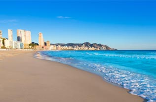 Sights and Sounds in Benidorm