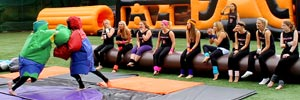 Inflatable games hen party